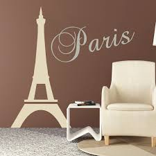 Paris Eiffel Tower Decal Paris Bedroom Stickers From Trendy Wall Designs