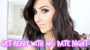 get ready with me date night makeup