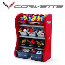 Corvette Room Organizer Kids Toy Storage Step2