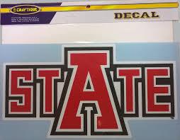 Textbook Brokers Jonesboro Arkansas State 6 Auto Decal