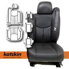 gmc sierra crew cab katzkin leather