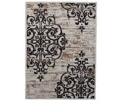 living colors damask accent rugs