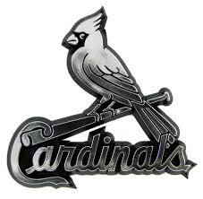 St Louis Cardinals Auto Emblem Silver Sale Reviews Opentip