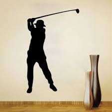 Golf Wall Decal Sticker For Kids Boys Girls Room And Bedroom Sports Wall Art For Home Decor And Decoration Golfing Silhouette Mural Removable Kids Wall Decals Removable Stickers From Rita0615 6 48 Dhgate Com