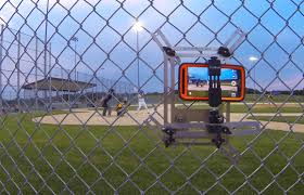 Chain Link Fence Sports Camera Mount Basketball Court Flooring Softball Accessories Baseball Records