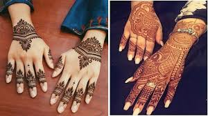 mehndi design simple images free download