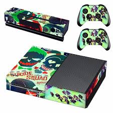 Dc Harley Quinn Batman Joker Skin Sticker Decal For Microsoft Xbox One Console And 2 Controllers For Xbox One Skin Sticker Vinyl Decal Skin Sticker Decal Stickerdecal Sticker Skins Aliexpress