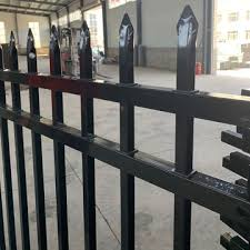 China Ornamental Steel Fencing Welded Steel Fence Panels Residential Rackable Steel Fence On Global Sources
