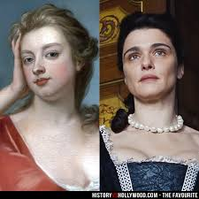 The Favourite vs the True Story of Queen Anne, Lady Sarah and Abigail