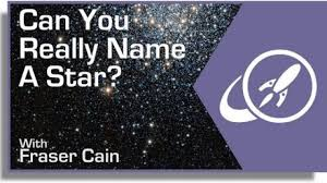 can you really name a star universe
