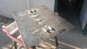 easy portable welding table