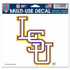 Louisiana State University Stickers Decals Bumper Stickers