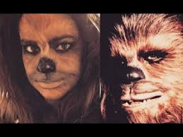star wars chewbacca 2016 face makeup