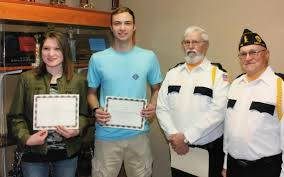 American Legion Post 148 elects new officials, gives scholarships ...