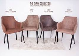 faux leather armchair dining chair
