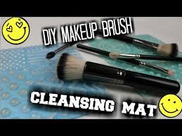 diy makeup brush cleaning mat super