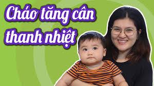 Cháo TĂNG CÂN cho bé còi 6-8 tháng ăn ngon miệng hơn