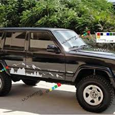 Jeep Cherokee Decals Liberty And Grand Cherokee Decals Jeep Decals Jeep Xj Jeep Cherokee