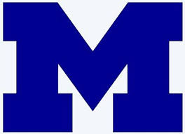 University Of Michigan Block M Logo Decal Car Window Sticker Vinyl Bumper U Of M Ebay