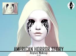 asylum makeup american horror story