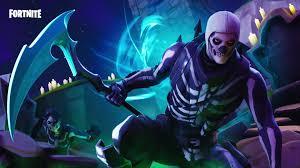 skeleton skull trooper live wallpaper