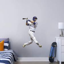 Christian Yelich Officially Licensed Mlb Removable Wall Decal