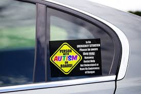 Tee Expression Person With Autism On Board Car Decal Facebook