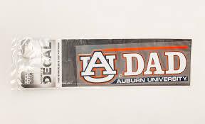 Au Dad Auburn University Decal J M Bookstore