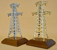 electric transmission power tower model