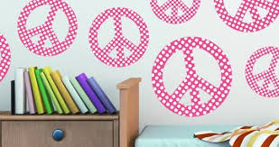 Peace Dots Wall Decal Dezign With A Z