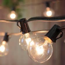 edison outdoor string lights solar