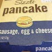 user added wawa sizzli pancake sausage