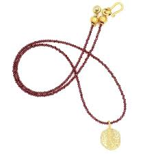 alligator scute pendant necklace 14k