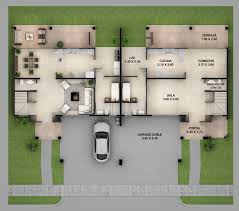 3 luxury duplex house plans with actual