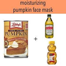 make a diy pumpkin face mask with
