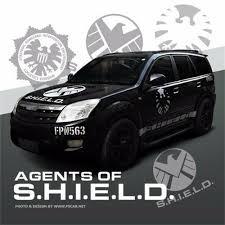 Marvel Agents Of Shield Logo Vinyl Reflective Ho Car Sticker Auto Decal Door New Ebay
