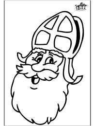 Kleurplaat Sint 1 Sint Nicolas Coloring Pages