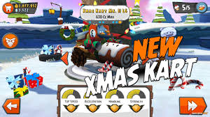 First Look! New Angry Birds GO! Christmas Kart Mk II