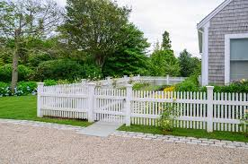 Cape Cod Home Garden Path And White Picket Fence Traditional Landscape Boston By Kimberly Mercurio Landscape Architecture