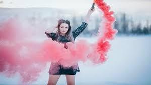 Alaska Photographer & Model Collaboration #5 | Smoke & Colors - YouTube
