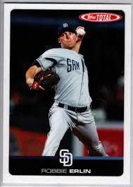 Amazon.com: Baseball MLB 2019 Topps Total #894 Robbie Erlin: Collectibles &  Fine Art