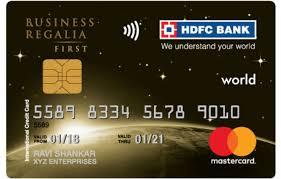 hdfc regalia first credit card reviews