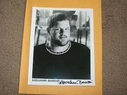 Abraham Benrubi -signed photo-18 bb | #1828415186