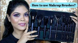 makeup brush set by la cara