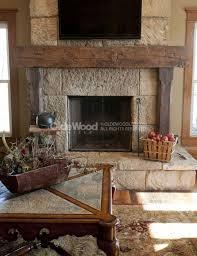 barn beam fireplace mantels