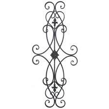 brown scroll metal wall decor hobby