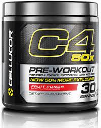 cellucor c4 50x preworkout energy boost