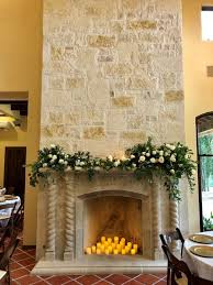 grand fireplace in the great room