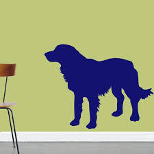 Winston Porter Turnbow Golden Retriever Dog Silhouette Wall Decal Wayfair