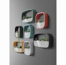 geometric terrarium hanging planter